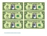 Puppy Bucks:  $1 Bills (Class Money)