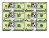 Puppy Bucks: $5 (Class Money)
