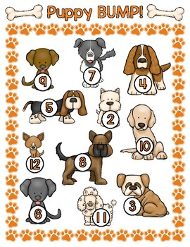 Puppy Bump! A Dog-Themed Addition Game