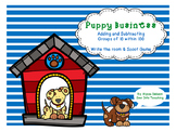 Puppy Business {Adding&Subtracting groups of 10)