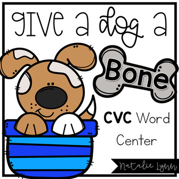 Puppy CVC Word Center