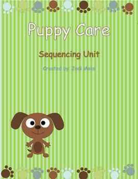 Puppy Care Sequencing Mini Unit