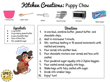 Puppy Chow Visual Recipe