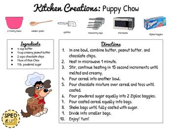 Puppy Chow Visual Recipe
