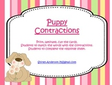 Puppy Contractions with 'not'
