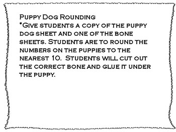Puppy Dog Rounding