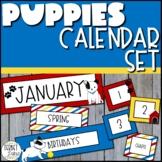 Bulletin Board Calendar Set Dog Theme