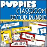 Dog Themed Classroom Decor Bundle