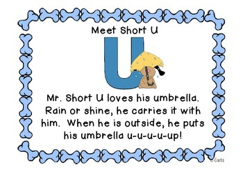 Puppy Dogs - Short u and Other Literacy Activities