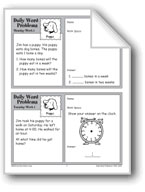 Puppy (Grade 2 Daily Word Problems-Week 1)