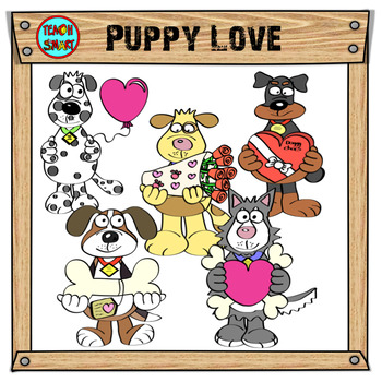 Puppy Love Clip Art