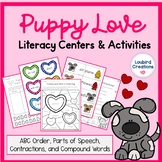 Literacy Centers - Compound Words, Contractions, ABC, Part