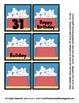 Puppy Love - Dog Themed Calendar Cover-Ups Memory game Pieces - Preschool
