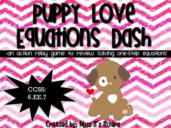 Puppy Love Equations Dash