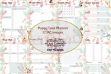 Puppy Love PDF and Printable Planner