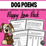 Puppy Love Poetry Pack-Reading, Rhyming & Writing Activities