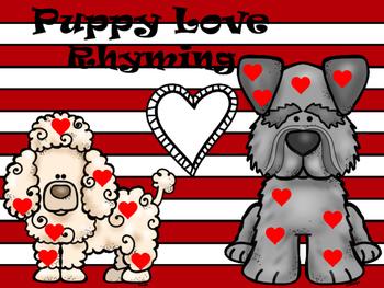 Puppy Love Rhyming