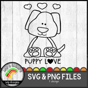 Puppy Love SVG Design