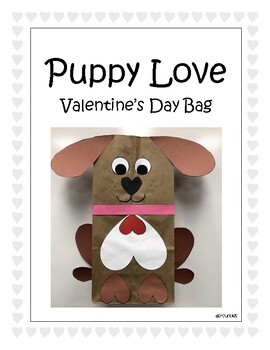 Puppy Love Valentine's Day Bag