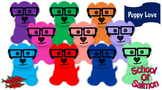 Puppy Love With Glasses - 10 Pack!