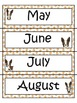 Puppy Paw Daily Schedule Signs