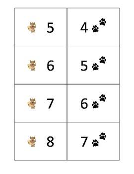 Puppy Paws Mental Math Game