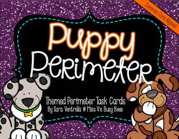 Puppy Perimeter {A Themed Task Card Product}