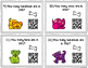 QR Code Task Cards: Puppy Place Value and Numbers Forms