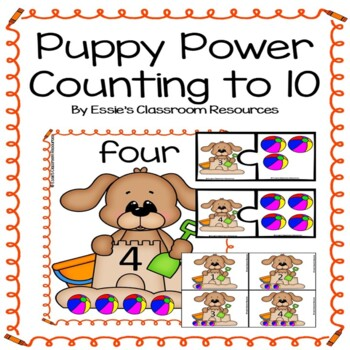 Puppy Power Counting to 10