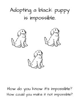 Puppy Probability Coloring Book