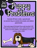 Puppy Problems: 2nd Grade Texas Math TEKS 2.4D