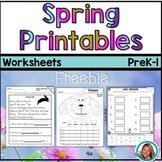Spring Activities   Printables Freebie