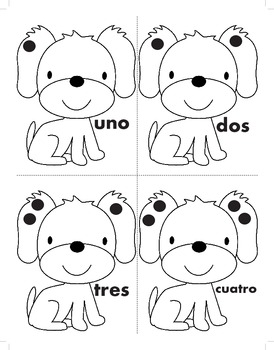 Bilingual Puppy Spots Math
