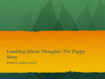 Puppy Story: CBT for Anxiety for Young Children