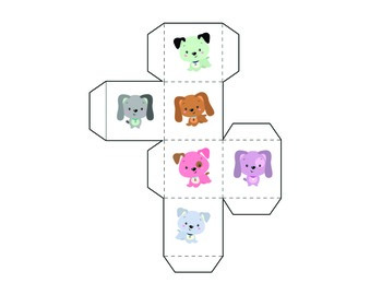 Puppy Tally Mark & Graphing Activity