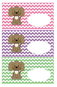 Puppy Theme Classroom Bundle, Super Adorable!