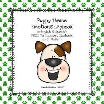 Puppy Theme Emotions Lapbook PECS to Support Students with Autism