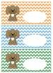 Puppy Theme Labels, Classroom Organization