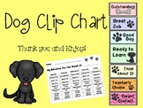 Dog Themed Clip Chart