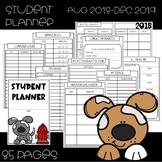 Puppy Themed Student Planner {PRINTABLE}