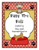 Literacy Workstations: Puppy Time Pals Long /e/ spelled with y Common Core