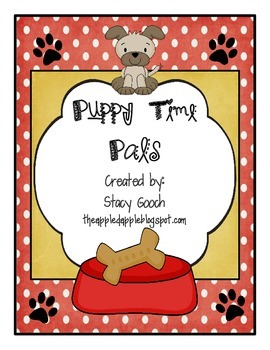 Literacy Workstations: Puppy Time Pals Long /e/ spelled wi