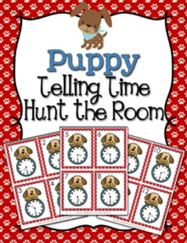 Puppy Time to the Half Hour Hunt the Room