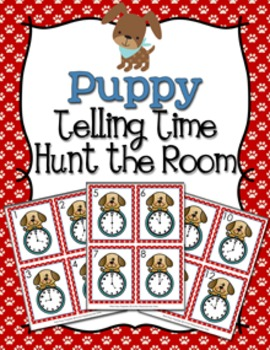 Puppy Time to the Hour Hunt the Room