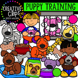 Puppy Training {Creative Clips Clipart}