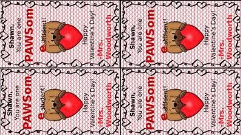 Puppy Valentines Day Cards