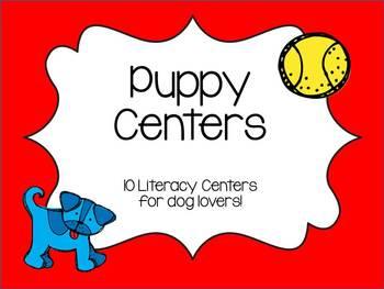 Puppy/Dog Literacy Centers