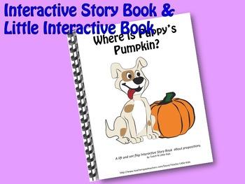 Puppy's Pumpkin INTERACTIVE STORY BOOK & LITTLE INTERACTIVE BOOK