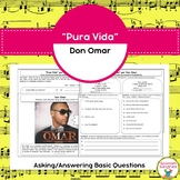 """Pura Vida"" and Asking / Answering Questions in Spanish"