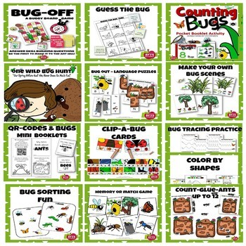 Purchase a Crazy Bug Adventure receive Snug as a Bug Lessons FREE
